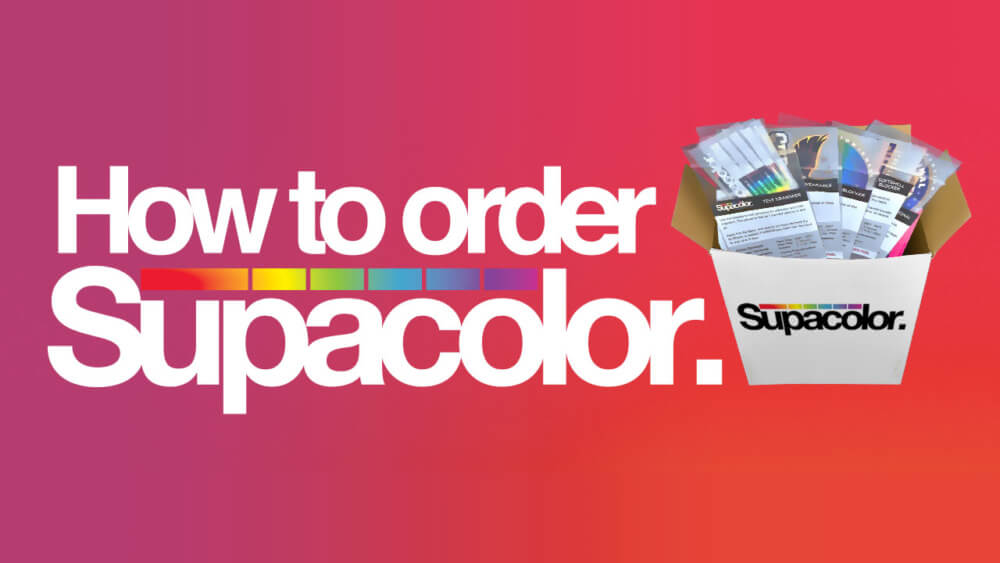 How to order Supacolor